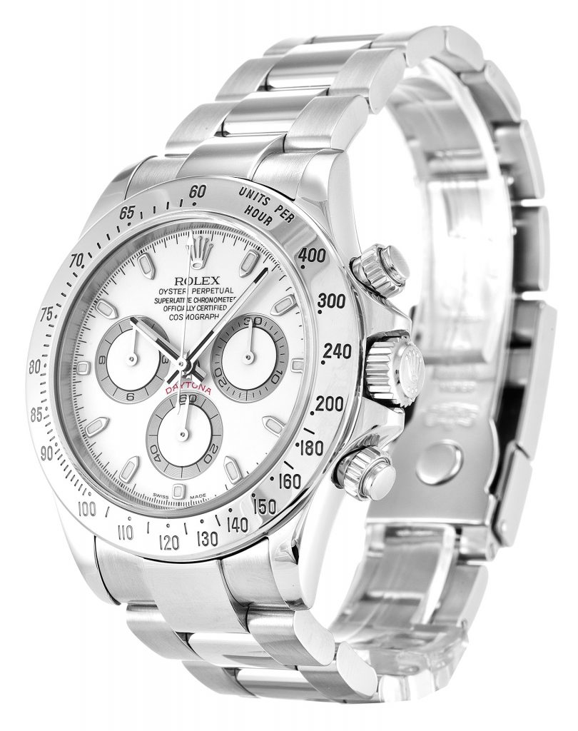 Rolex Cosmograph Daytona SS 18CT White Gold Grey Dial Replica